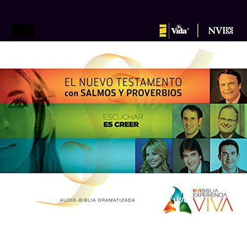 Experiencia Viva, Nuevo Testamento con Salmos y Proverbios Audio-Biblia Dramatizada